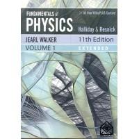 کتاب مبانی فیزیک هالیدی جلد اول ( افست ) ویرایش 11 PHYSICS