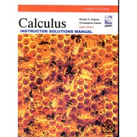 کتاب حل حساب دیفرانسیل آدامز 8 افستINSTRUCTOR SOLUTIONS MANUAL