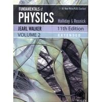 کتاب مبانی فیزیک هالیدی جلد دوم ( افست ) ویرایش 11 PHYSICS