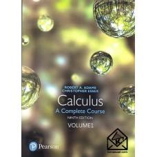 کتاب حساب دیفرانسیل و انتگرال آدامز ویرایش 9 جلد 1 زبان اصلی